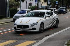 Switzerland (Ticino) - Maserati Ghibli S 2013 (PrincepsLS) Tags: switzerland swiss license plate lugano spotting ti ticino maserati ghibli s 2013
