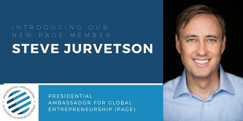 Becoming a Presidential Ambassador for Global Entrepreneurship by Executive Order by Barack Obama