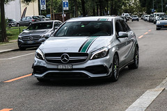 Switzerland (Ticino) - Mercedes-AMG A 45 Petronas World Champion Edition W176 2015 (PrincepsLS) Tags: switzerland swiss license plate lugano spotting ti ticino mercedesamg a 45 petronas world champion edition w176 2015