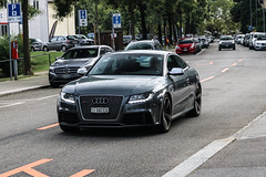 Switzerland (Ticino) - Audi RS5 (PrincepsLS) Tags: switzerland swiss license plate lugano spotting ti ticino audi rs5