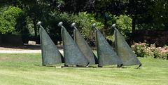 Sculpture group at Hotel De Wilmersberg - De Lutte (joeke pieters) Tags: 1470894 panasonicdmcfz150 beeldengroep sculpturegroup twentsewallenoldenzaal twente overijssel nederland netherlands holland delutte