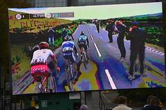 Tour de Yorkshire 2019 Sportive (84) (rs1979) Tags: bigscreen tourdeyorkshire yorkshire cyclerace cycling tourdeyorkshiresportive tourdeyorkshire2019sportive sportive leeds westyorkshire theheadrow headrow westgate
