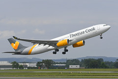 OY-VKI Airbus A330-343X EGPF 23-06-19 (MarkP51) Tags: oyvki airbus a330343x a330 thomascook thomascookairlines dk vkg glasgow airport gla egpf scotland airliner aircraft airplane plane image markp51 nikon aviationphotography planeporn sunshine sunny nikonafp70300fx nikond500 d500