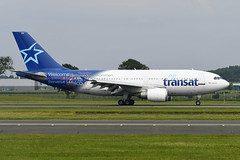 C-GLAT Airbus A310-308 EGPF 23-06-19 (MarkP51) Tags: cglat airbus a310308 a310 airtransat ts tsc glasgow abbotsinch airport gla egpf scotland airliner aircraft airplane plane image markp51 nikon d500 nikonafp70300fx sunshine sunny planeporn