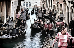 "Gondoliers • <a style=""font-size:0.8em;"" href=""http://www.flickr.com/photos/45090765@N05/48121470477/"" target=""_blank"">View on Flickr</a>"