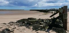 low tide on the River Coquet (Mr Ian Lamb 2) Tags: river beach sand coast amble northumberland coquet coastal pier breakwater