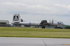 FIFI Profile on the Runway (dcnelson1898) Tags: reading pennsylvania airport airshow aviation warbirds warbird history militaryhistory boeingb29superfortress bomber fifi heavybomber