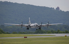 FIFI Over the Thresh Hold (dcnelson1898) Tags: reading pennsylvania airport airshow aviation warbirds warbird history militaryhistory boeingb29superfortress bomber fifi heavybomber