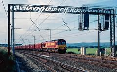 66 183 in Eden Valley Goods Loop, Clifton. Cumbria. (Marra Man) Tags: class66 class660 edenvalleygoodsloop clifton ews 6m40