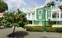 City Hall, Oranjestad (© Freddie) Tags: aruba oranjestad cityhall villa house green fjroll ©freddie