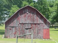 Old Red Barn - Near Bellfonte in Boone County, Arkansas (danjdavis) Tags: barn oldbarn redbarn boonecounty arkansas