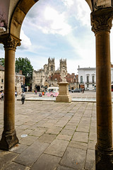 York Minster from Exhibition Square, June 2019 - 1 (nican45) Tags: artgallery arch minster degreyrooms williametty mirrorless fujifilm boothambar sculpture xt2 water june yorkshire exhibitionsquare fountain 1024 citywalls architecture statue wideangle 2019 york 09062019 1024mm 9june2019 csc fuji fujinon xf1024mmf4rois england unitedkingdom