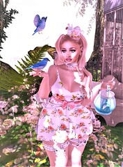 Mad Hatter (Suhnne Blossom) Tags: entice genus fairytale mad hatter alice secondlife virtualworld doux found