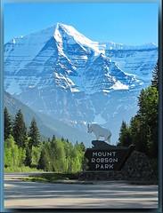 The Mighty Mount Robson (robinb44) Tags: mountrobsonprovincialpark jaspernationalpark britishcolumbia highway16 yellowheadhighway alberta bc