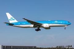 PH-BQD KLM Royal Dutch Airlines Boeing 777-206(ER) (buchroeder.paul) Tags: eham ams amsterdam schiphol the netherlands europe final phbqd klm royal dutch airlines boeing 777206er