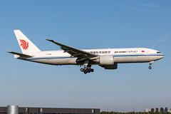 B-2092 Air China Cargo Boeing 777-FFT (buchroeder.paul) Tags: eham ams amsterdam schiphol the netherlands europe final b2092 air china cargo boeing 777fft