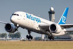EC-MIH Air Europa Boeing 787-8 Dreamliner (buchroeder.paul) Tags: eham ams amsterdam schiphol the netherlands europe departure ecmih air europa boeing 7878 dreamliner