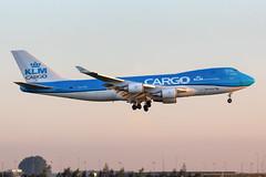 PH-CKB KLM Cargo Boeing 747-406(ER/F) (buchroeder.paul) Tags: eham ams amsterdam schiphol the netherlands europe final phckb klm cargo boeing 747406erf
