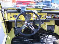 2019 Fathers Day Show (blondygirl) Tags: showshine car auto celebrationchurch 2019 fathersday carshow 17thannual yeg celebratedad edmonton autography edmcarshow yegevents yegcars steeringwheel interior volkswagen thing volkswagenthing german 1973