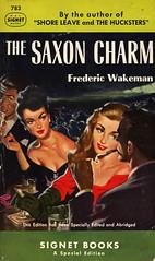 Signet Books 783 - Frederic Wakeman - The Saxon Charm (swallace99) Tags: signet vintage 50s paperback martini cigaretteholder