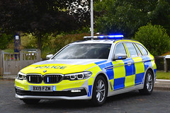 BX19 FZM (S11 AUN) Tags: bedfordshire hertfordshire cambridgeshire police bch cambs constabulary bmw 530d 5series xdrive estate touring osu operational support unit anpr traffic car rpu roads policing 999 emergency vehicle bchroadspolicing bx19fzm