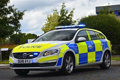 OU18 AYJ (S11 AUN) Tags: bedfordshire hertfordshire cambridgeshire police bch cambs constabulary volvo v60 d3 osu operational support unit anpr traffic car rpu roads policing 999 emergency vehicle bchroadspolicing ou18ayj