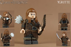 Custom LEGO: Ygritte (Game of Thrones) (Will HR) Tags: lego custom game thrones ygritte free folk