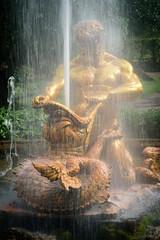 St. Petersburg (stefan_fotos) Tags: europa hf landschaft park peterhof russland stpetersburg urlaub hq russia europe russian federation palace garden fountain