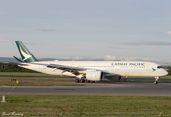 Cathay Pacific A350-900 B-LRA (birrlad) Tags: dublin dub international airport ireland aircraft aviation airplane airplanes airline airliner airlines airways arrival arriving landing landed runway taxi taxiway gate stand terminal cathay pacific airbus a350 a359 a350900 a350941 blra hongkong