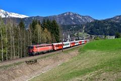 """1142 564 """"ÖBB"""" Windischgarsten (Matthias Greinwald) Tags: 1142 564 blutorange öbb österreichische bundesbahn personenzug rex windischgarsten pyhrn"""