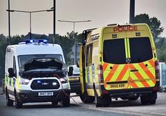 Operation Jumpstart !! (LGM999) Tags: mercedes police jumpstart fordtransit policevan sprinter merseysidepolice dk67dpo dk65oar dk65aor