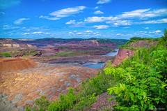 Hull-Rust-Mahoning Mine (WOODSHED Revisited) Tags: minnesota minn mn mining mine miners marthadecker hull rust mahoning mesabi range hibbing pentax k30 mineview justpentax onlyinmn iron steel