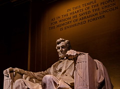 The Great Emancipator (ArmyJacket) Tags: lincolnmemorial abrahamlincoln president civilwar american usa america history landmark washingtondc districtofcolumbia statue building travel tourist