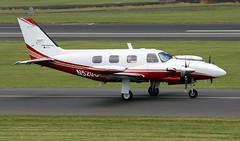N520CS (PrestwickAirportPhotography) Tags: egpk prestwick airport piper pa31 n520cs