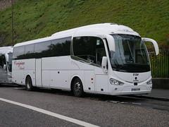 Creigiau Travel of Cardiff Scania K360IB4 Irizar i6 YN66VSN at Johnston Terrace, Edinburgh, on 30 May 2019. (Robin Dickson 1) Tags: busesedinburgh yn66vsn scaniak360ib4 irizari6 creigiautravelofcardiff huytoncoachesofwidnes visiontravel