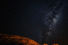 Starry sky over the Fish River Canyon (Rainer ❏) Tags: nacht afrika namibia fishrivercanyon starrysky neumond rainer❏ milkyway sternenhimmel milchstrase newmoon