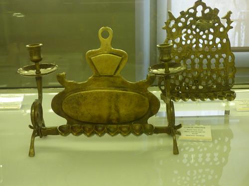 Museu d'Història dels Jueus in Girona - Llum de Hanukkà