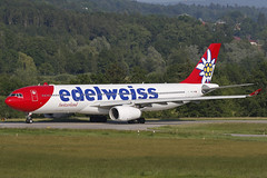 HB-JHR ZRH 04.06.2019 (Benjamin Schudel) Tags: hbjhr edelweiss air airbus a330300 zrh lszh zurich international airport switzerland swiss kloten