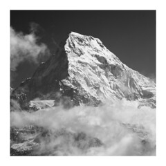 Annapurna South (SiKenyonImages) Tags: annapurnasouth annapurna nepal himalayas 7000er mountain snow ice rock triangle pointy highaltitude upperphulbari betterthanpoonhill