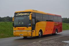 M20 ECT: Mills t/a Enterprise, Eastrington (originally YJ04 HHP) (chucklebuster) Tags: m20ect daf sb4000 van hool alizee enterprise coaches mills ingleby armchair passenger transport yj04hhp ffk312