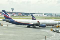 VQ-BQZ   Aeroflot Airlines   Airbus A330-323   CN 1270   Built 2011   SVO/UUEE 14/06/2019 (Mick Planespotter) Tags: aircraft airport 2019 nik sharpenerpro3 a330 vqbqz aeroflot airlines airbus a330323 1270 2011 svo uuee 14062019 moscow sheremetyevo aspushkin