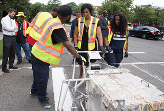 June 20, 2019 MMB Kicks Off Summer Paving Season with Focus on Improving Pedestrian Safety