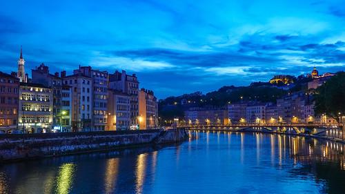 2019-06-23 (04) Lyon@Pont de la Feuillée --->Saône & Quai de Bondy & Quai Saint-Vincent