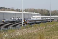 800101-385040-801111-HI-20042019-1 (RailwayScene) Tags: class385 385040 scotrail class801 801111 class800 800101 lner azuma hitachi aycliffe