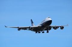G-BNLY Boeing 747-436 British Airways Landor retro livery (R.K.C. Photography) Tags: uk england london unitedkingdom aircraft aviation retro british ba boeing britishairways landor airliner lhr b747 baw egll speedbird londonheathrowairport 747436 ba100 gbnly 09l canoneos750d cityofswansea