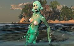 Playful Mermaid (beccaprender) Tags: catwa catya bento maitreya lara magika cynfin elemental mermaid fantasy boundelegance boundtoexcite