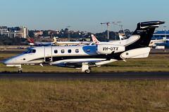 VH-UYX Embraer 505 Phenom 300E 34R YSSY-9293 (A u s s i e P o m m) Tags: australia mascot newsouthwales embraer embraer505phenom300e syd sydneyairport yssy bizjets
