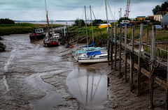 The  River (jphowley12) Tags: river water boats rivbank grass jetty mud outside summer humber lincolnshire uk nikond7000