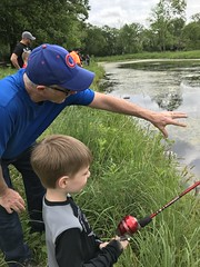 """Paul Fishing with Grandpa Miller • <a style=""""font-size:0.8em;"""" href=""""http://www.flickr.com/photos/109120354@N07/48122974666/"""" target=""""_blank"""">View on Flickr</a>"""