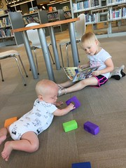 "Playing at the Kansas City Library • <a style=""font-size:0.8em;"" href=""http://www.flickr.com/photos/109120354@N07/48122998433/"" target=""_blank"">View on Flickr</a>"